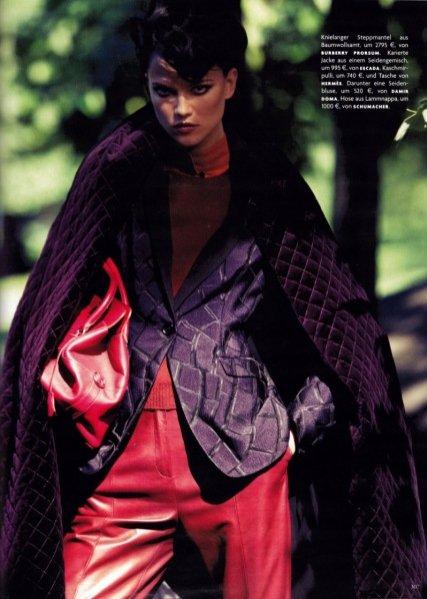 Kasia Struss w sesji dla Vogue Germany