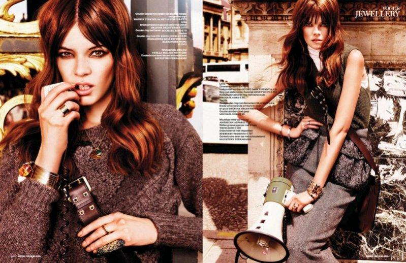 Zuzanna Stankiewicz w sesji dla Vogue Netherlnds