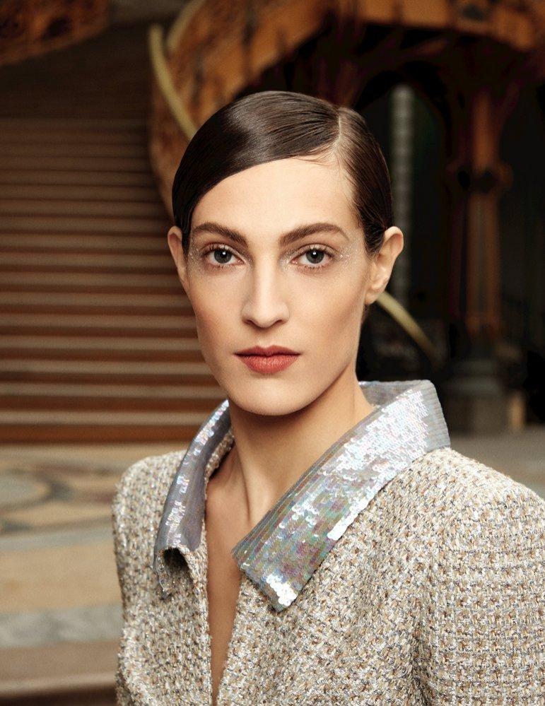 Makijaż z pokazu Chanel haute couture wiosna lato 2017