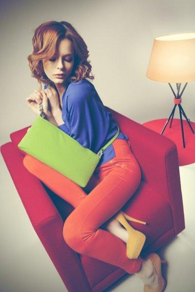 sesja zdjęciowa kolekcji Purol Design wiosna lato 2012