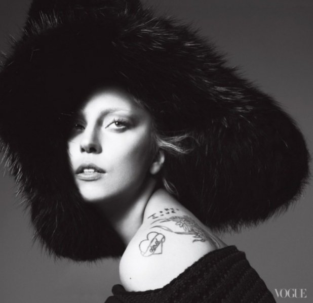 Lady Gaga w Vogue US