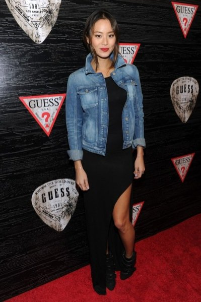 Road to Nashville - impreza Guess na New York Fashion Week - aktorka Jamie Chung