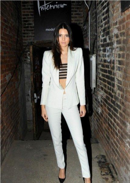 Kendall Jenner w zestawie Cristiano Burani