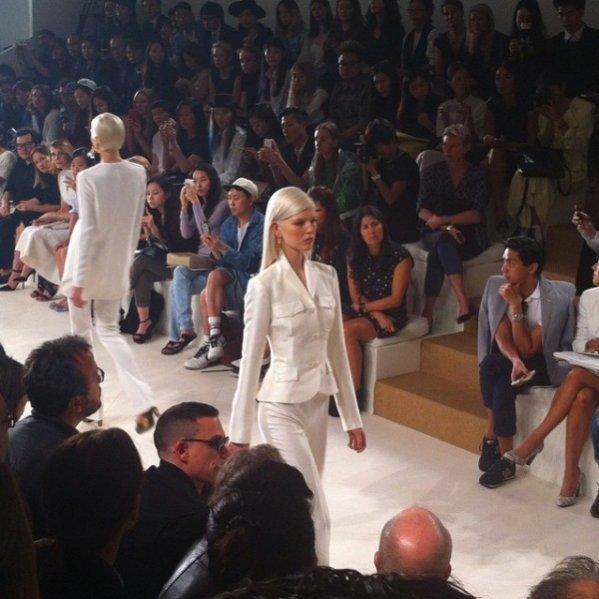 INSTAGRAM LAMODE.INFO - Ola Rudnicka na pokazie Tommy Hilfiger wiosna lato 2015 podczas New York Fashion Week