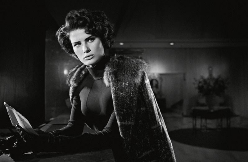 Isabeli Fontana w Schon magazine