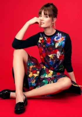 MONIKA JAC JAGACIAK W LOOKBOOKU H&M WIOSNA 2014