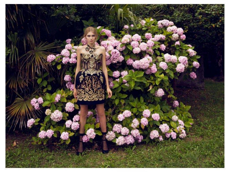 sesja poświęcona Dolce & Gabbana w Marie Claire Czech