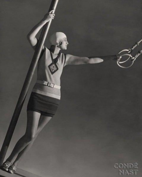 kostium kąpielowy Jean Patou, Vogue lipiec 1929