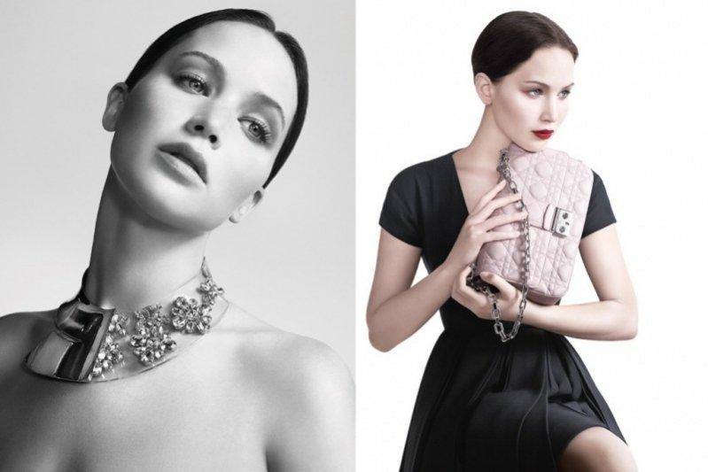 Jennifer Lawrence twarzą kampanii Miss Dior