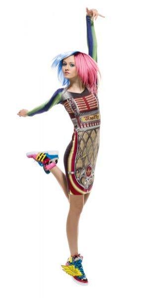 Kolekcja adidas Originals X Jeremy Scott na sezon wiosna lato 2012