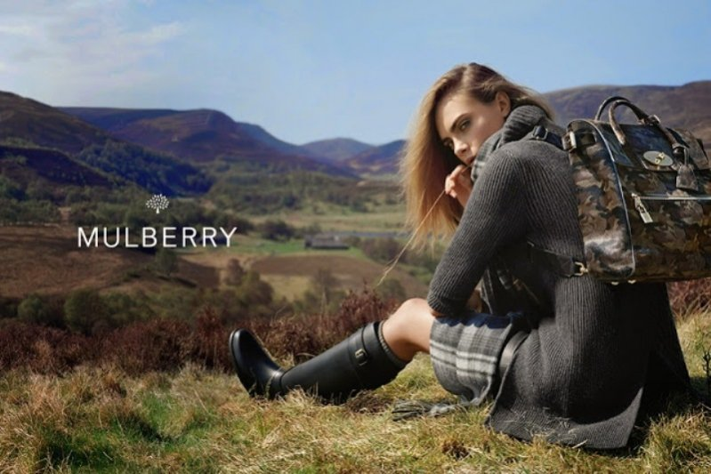 1. Kampania Mulberry jesień zima 2014/15