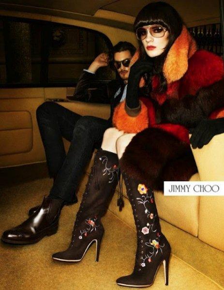kampania Jimmy Choo jesień zima 2012/2013