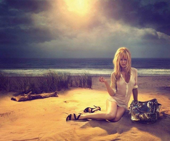Nicole Kidman w kampanii Jimmy Choo Resort 2014