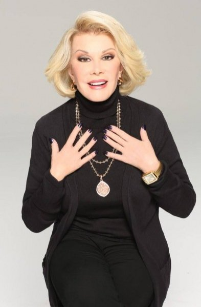 1. Joan Rivers