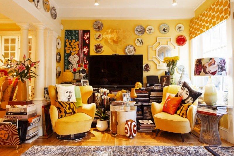 1. Nowojorski apartament Johna Demsey'a - szefa koncernu Estée Lauder