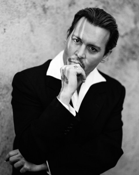 1. JOHNNY DEPP W EDYTORIALU INTERVIEW MAGAZINE