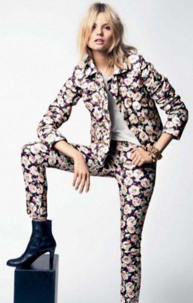 Magdalena Frąckowiak w lookbooku Juicy Couture Jesień 2012