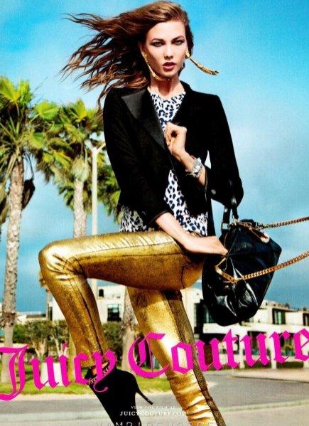 Karlie Kloss w kampanii Juicy Couture na saezon jesień zima 2012/13