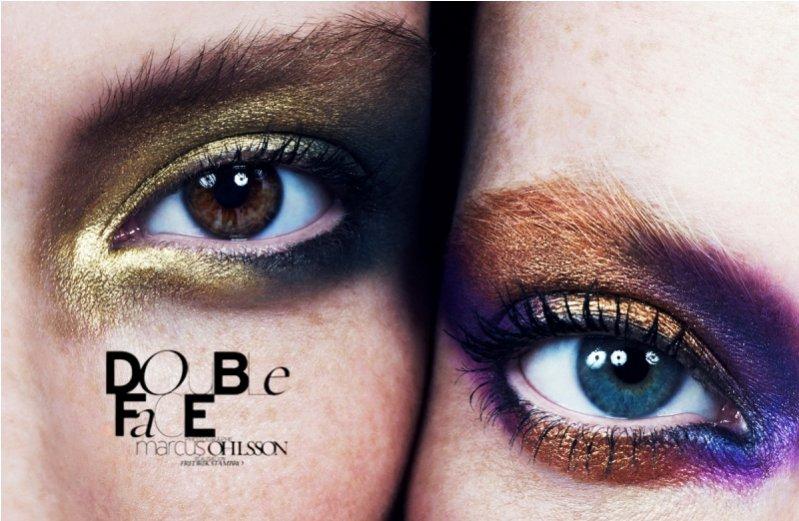 Double Face - sesja beauty dla wiosennego wydania French Revue de Modes