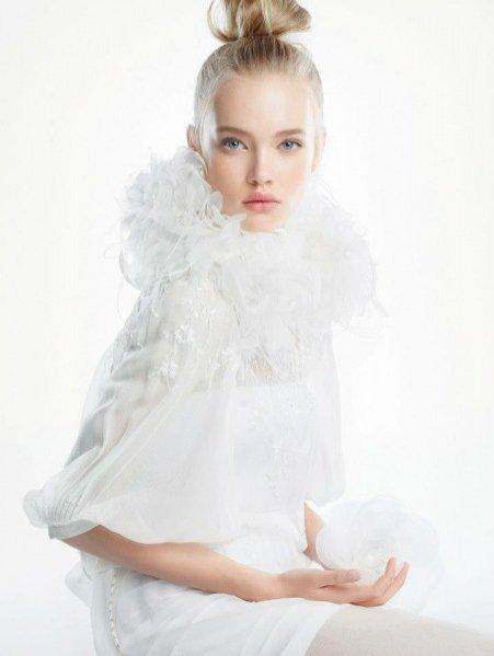 kampania kosmetyków Dior Snow wiosna lato 2013