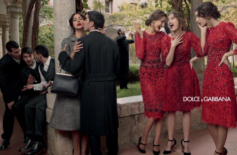 kampania Dolce&Gabbana jesień zima 2013/14