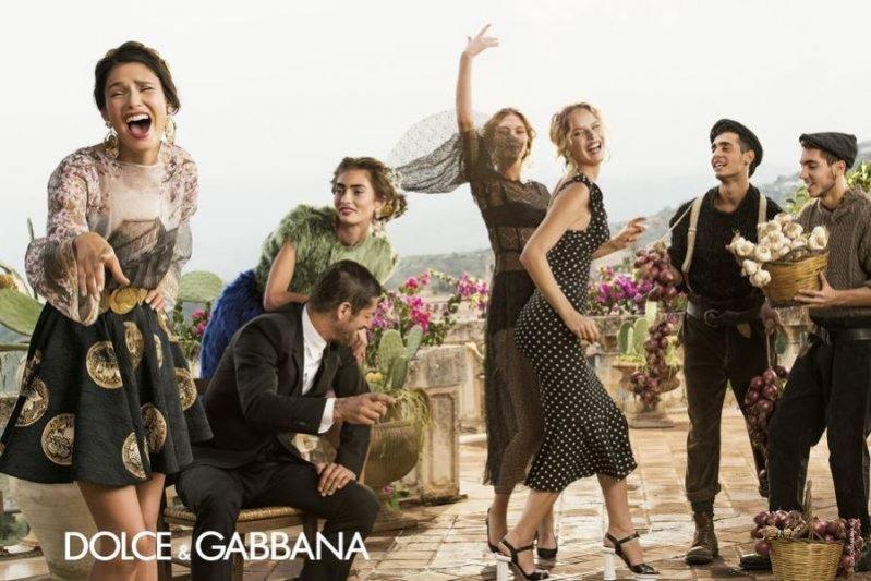 1. Kampania Dolce&Gabbana wiosna lato 2014