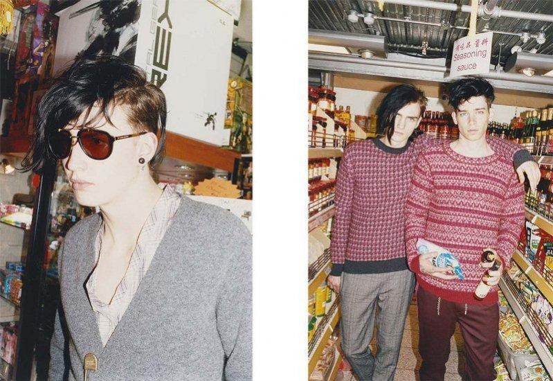 męska kampania Marc Jacobs jesień zima 2013/14