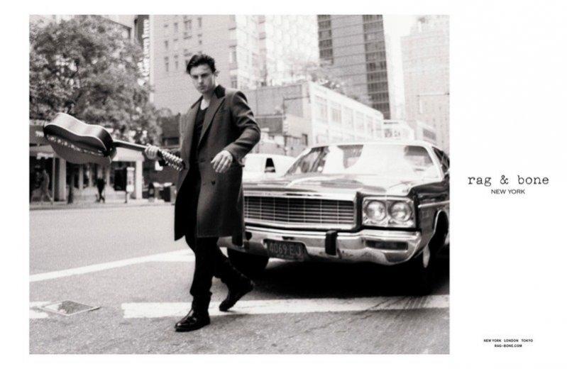 Michael Pitt w kampanii Rag&Bone jesień zima 2013/14