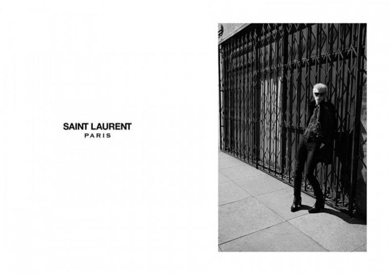 1. Nowa kampania Saint Laurent Paris na sezon jesień zima 2015