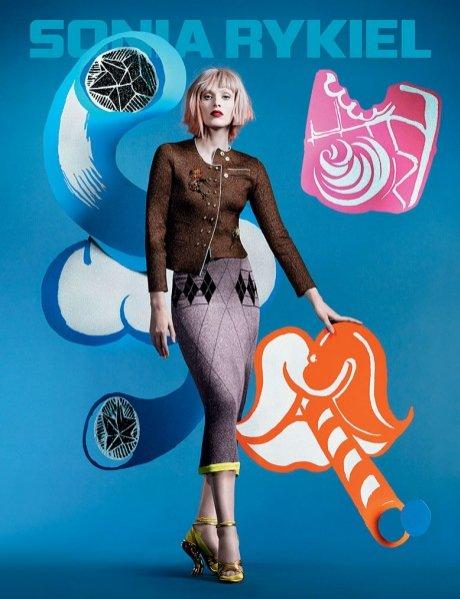 1. Sonia Rykiel - kampania wiosna lato 2014