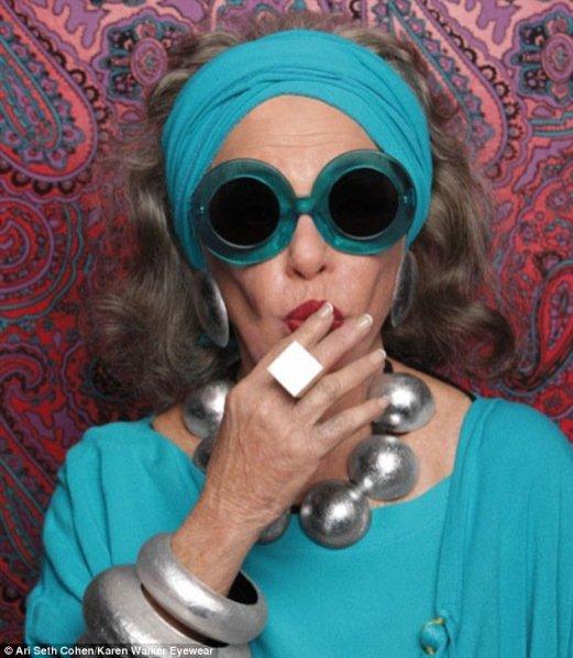 Karen Walker kampania okularów wiosna lato 2013