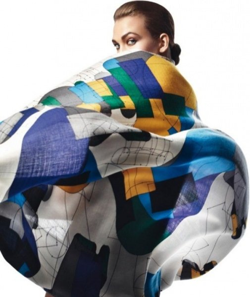 Karlie Kloss w katalogu Hermes wiosna lato 2013