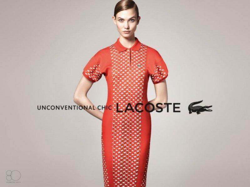 Karlie Kloss w kampanii Lacoste wiosna lato 2013