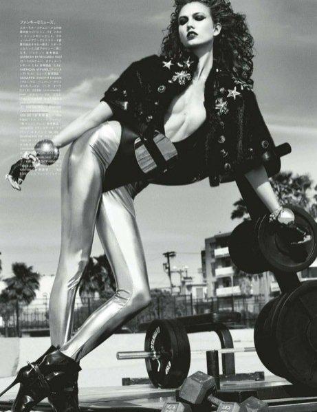 Karlie Kloss dla Vogue Japan, wrzesień 2012