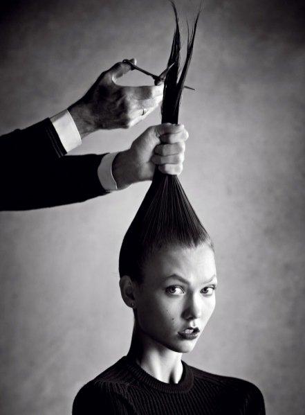 Karlie Kloss przed ścięciem włosów