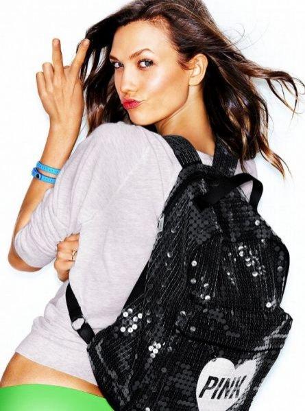Karlie Kloss w lookbooku Victoria's Secret Pink