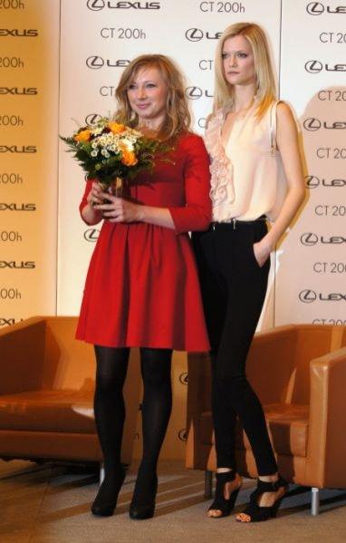 Kasia Struss z laureatką