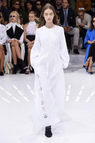 1. Kasia Jujeczka - pokaz Dior wiosna lato 2015