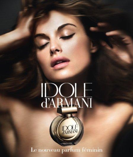 Kasia Smutniak w kampanii zapachu Giorgio Armani - Idole d'Armani z 2009 roku