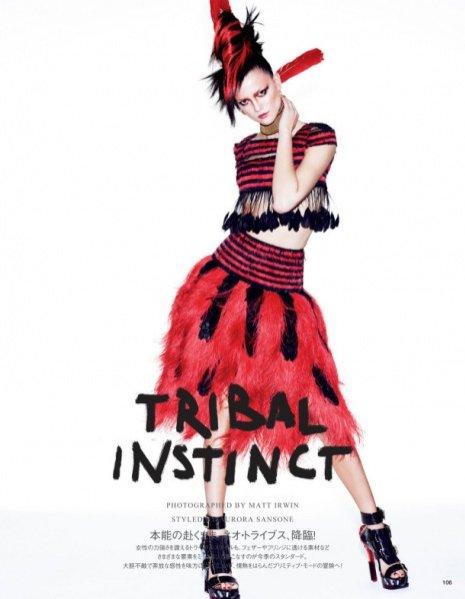 1. Kasia Struss w Vogue Japan, maj 2014