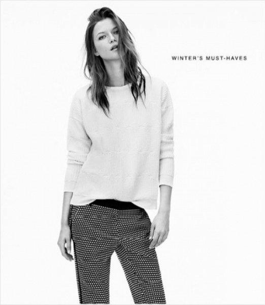 Kasia Struss w kampanii Mango zima 2013/2014