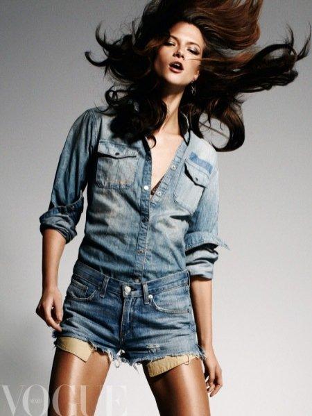 Kasia Struss w Vogue Mexico