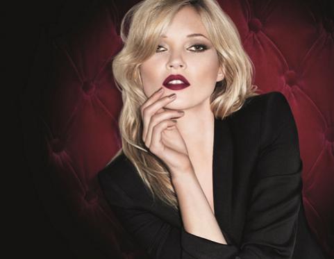 jesienny look Rimel prezentuje ambasadorka marki, Kate Moss