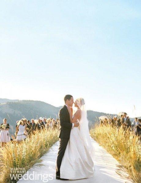 1. Ślub Kate Bosworth i Michaela Polisha