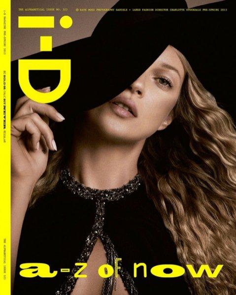 Kate Moss na 4 okładkach i-D Magazine pre-spring 2013