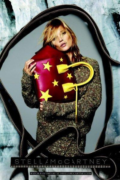 1. Kate Moss w kampanii Stelli McCartney - jesień zima 2014/2015