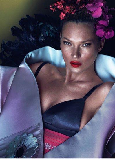 Kate Moss na okładce W magazine