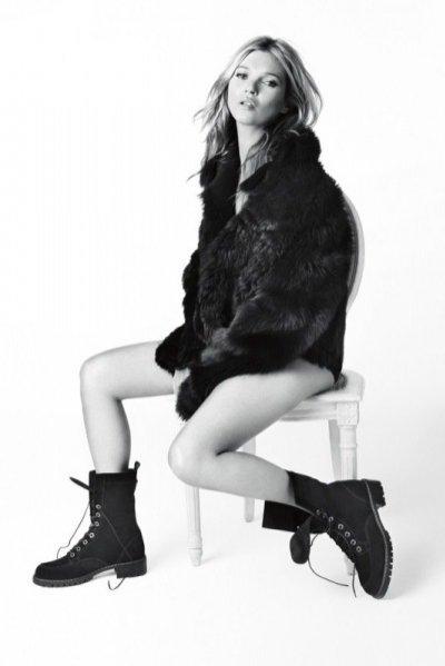 Kate Moss w kampanii Stuart Weitzman jesień zima 2013/14