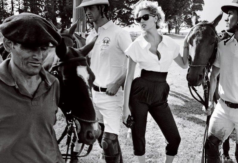 Kate Upton na okładce czerwcowego Vogue US