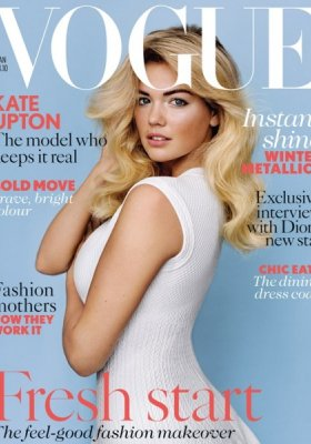 KATE UPTON NA OKŁADCE VOGUE UK